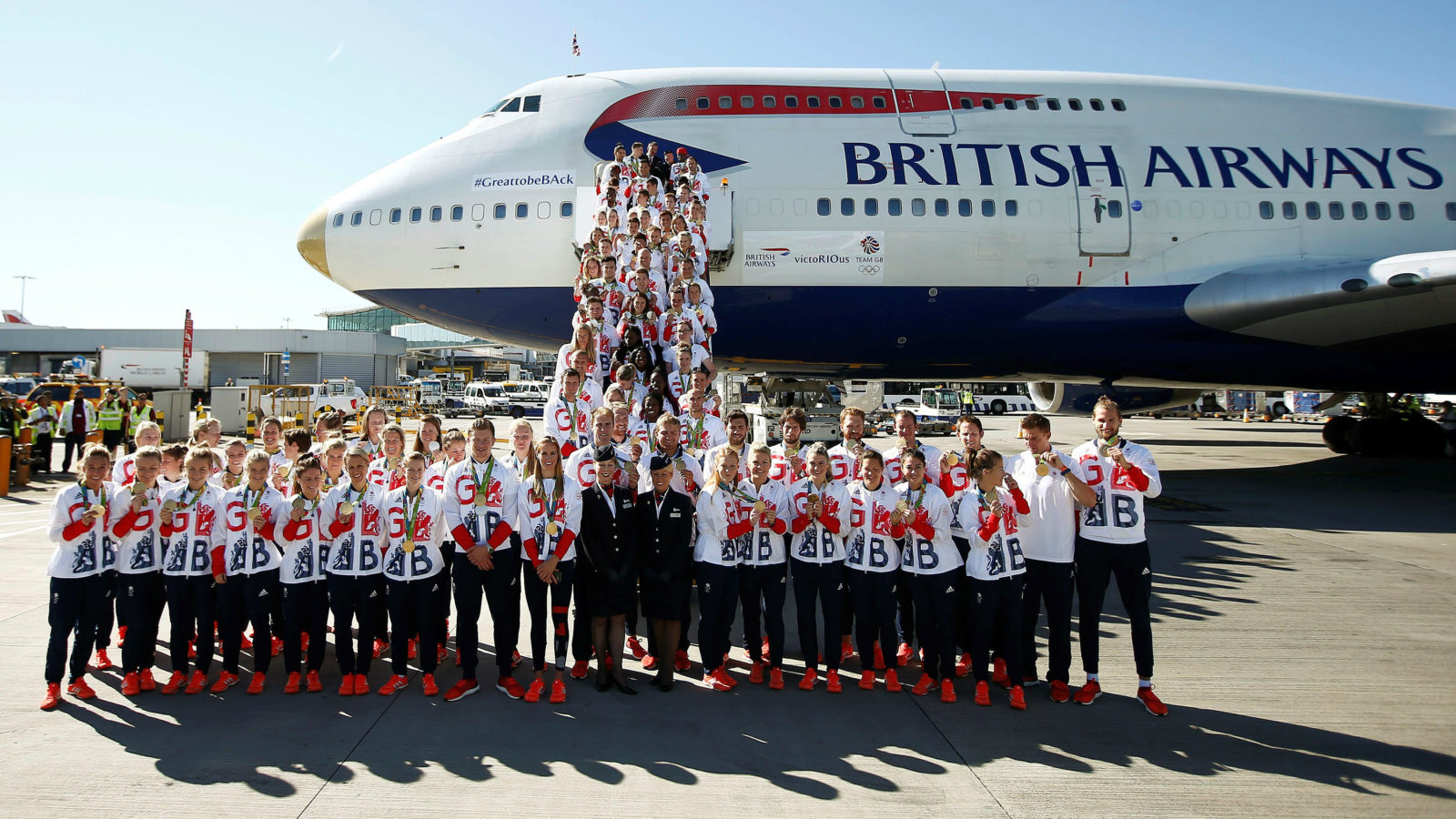 TeamGB British Airways